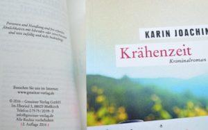 """Zweite Auflage von """"Krähenzeit"""""""