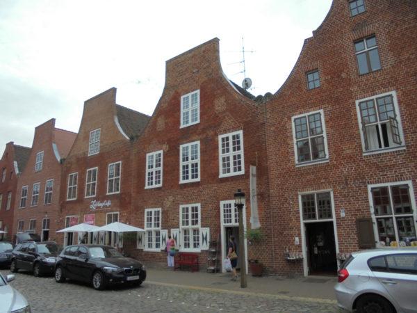 Das Holländische Viertel in Potsdam - Romanschauplatz
